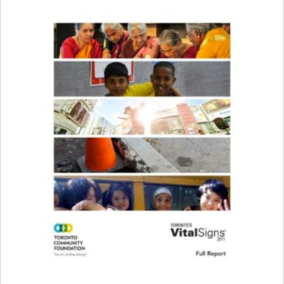 "Toronto Community Foundation ""Vital Signs"" highlights findings of WAC research report"