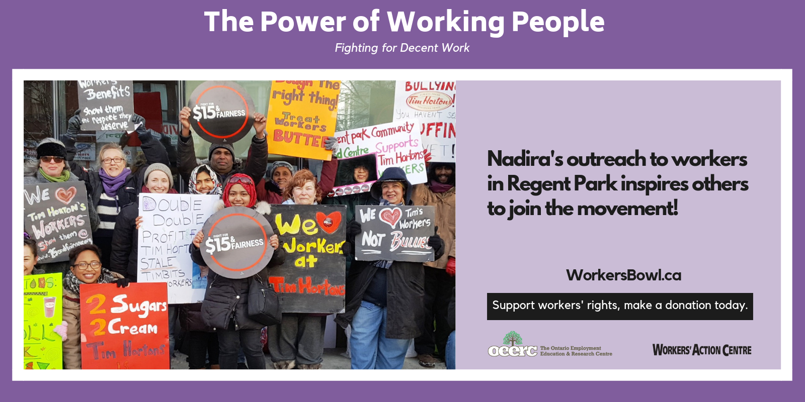 The Power of Working People - Nadira