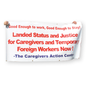 live in caregivers and temporary foreign workers