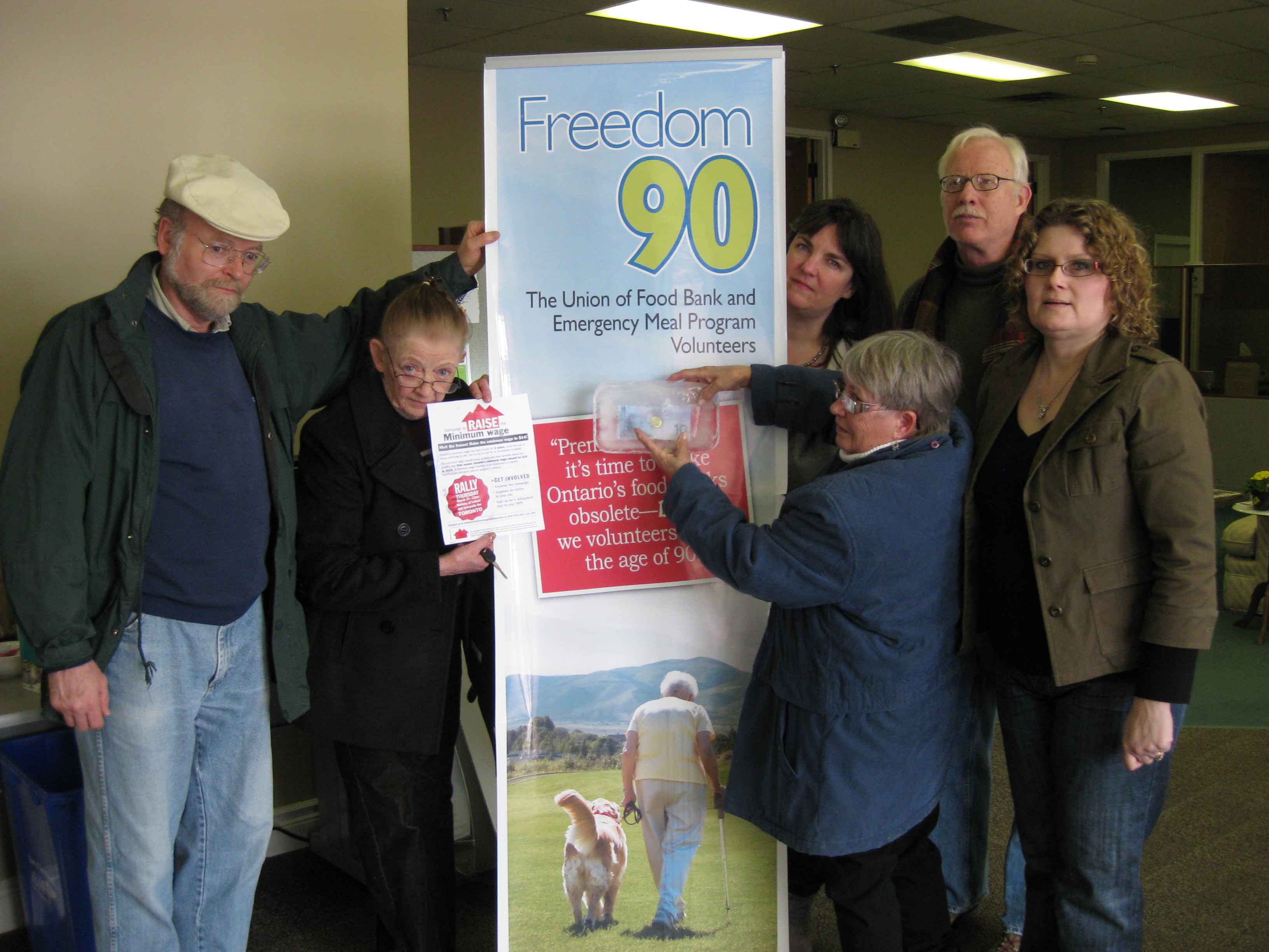 Freedom 90 Delegation gets ready to visit 6 York Region MPPs
