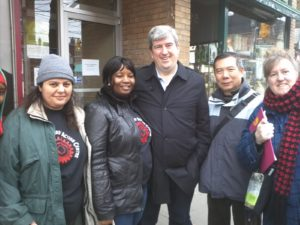We got a chance to speak to MPP Glen Murray about the urgent action needed!