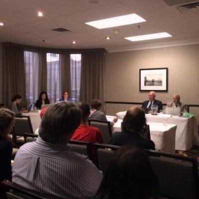 Workers speak at public consultations