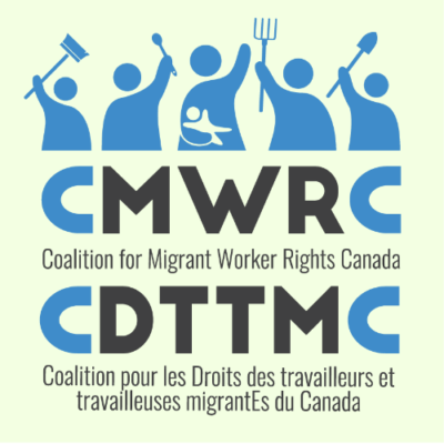 CMWRC (Coalition for Migrant Workers' Rights Canada) logo