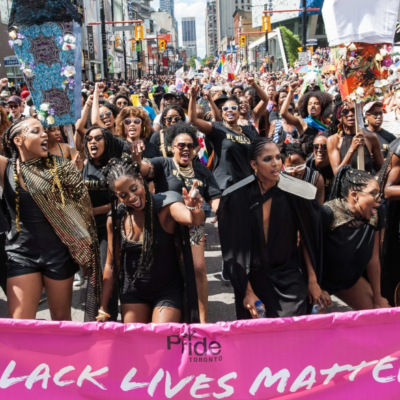 Black Lives Matter at Pride Toronto 2016