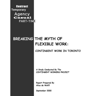 Breaking the Myth of Flexible Work Survey