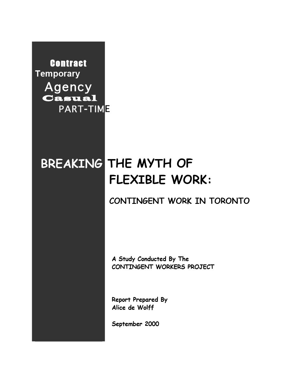 Breaking the Myth of Flexible Work Survey