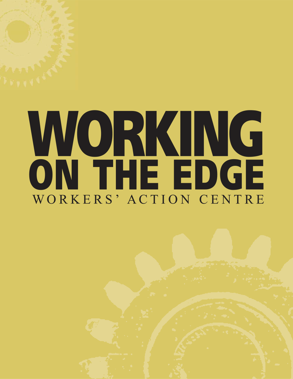 Report: Working on the Edge