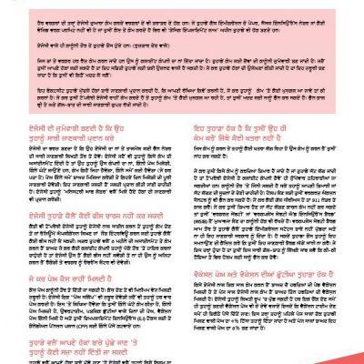 Temp Agencies - Punjabi factsheet