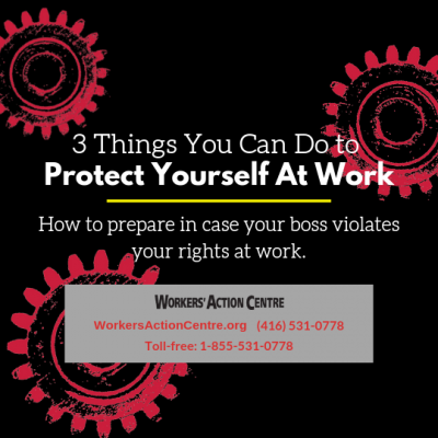 3 things you can do to protect yourself at work