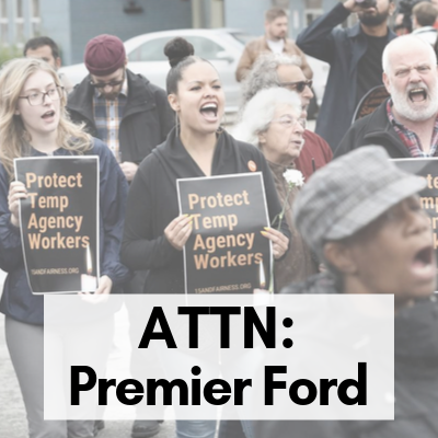 Link to An Open Letter to Premier Ford