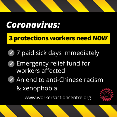 link to coronavirus: 3 protections workers need now