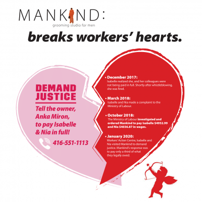 link to post this valentine's day, give workers the gift of justice