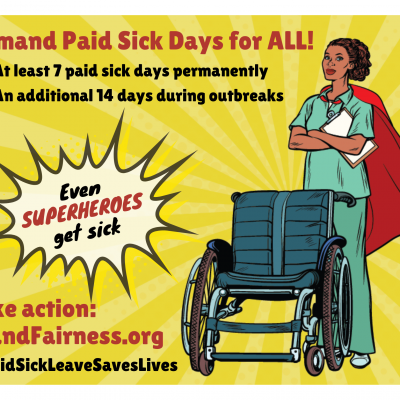 Even superheroes get sick - personal support worker