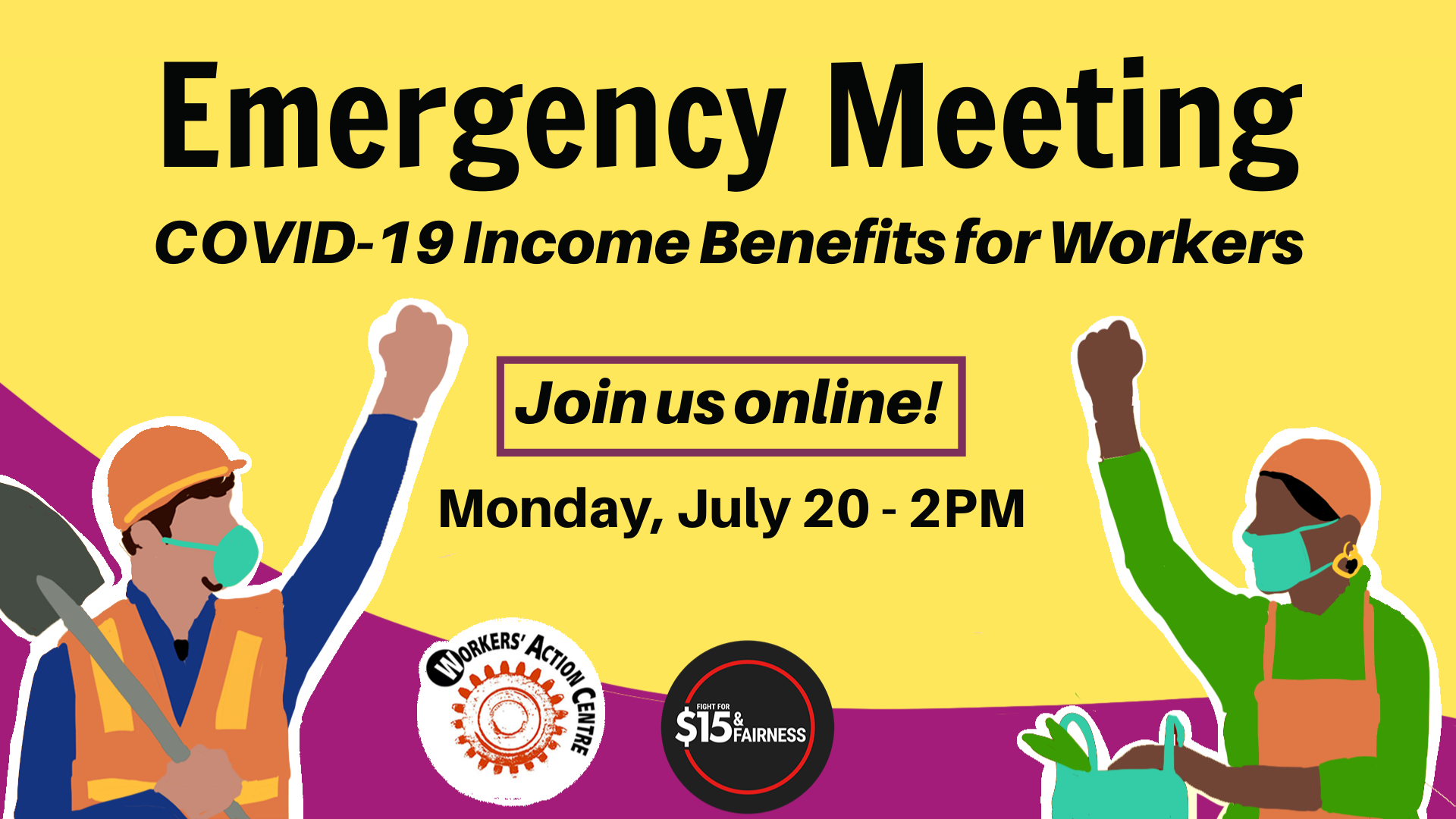 Register for July 20 Emergency Meeting