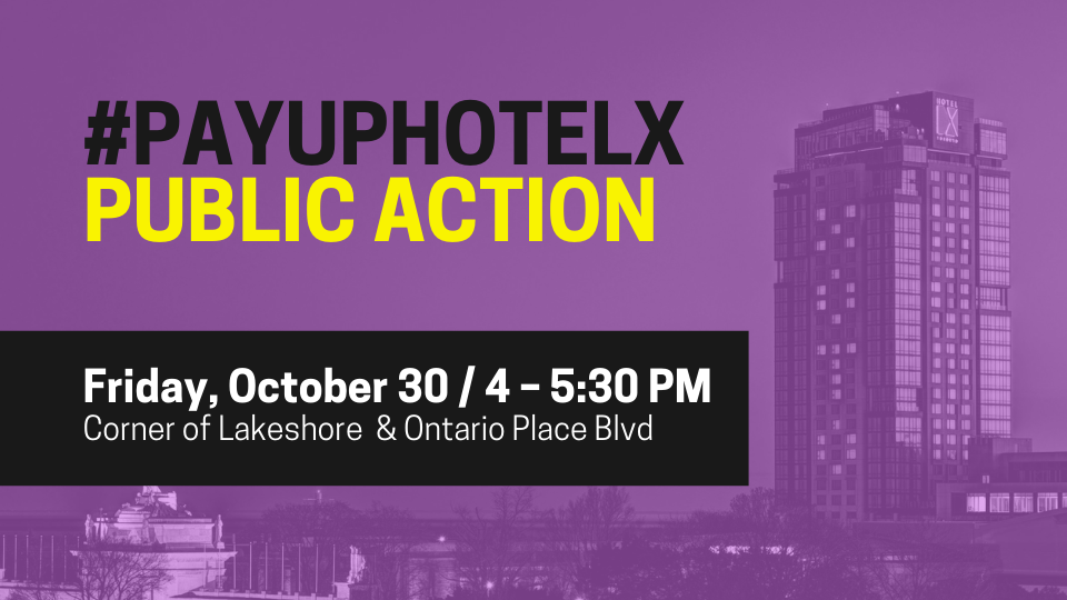 link to sign up for Hotel X public action