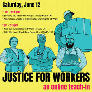 link to register for Justice for Workers Teach-In
